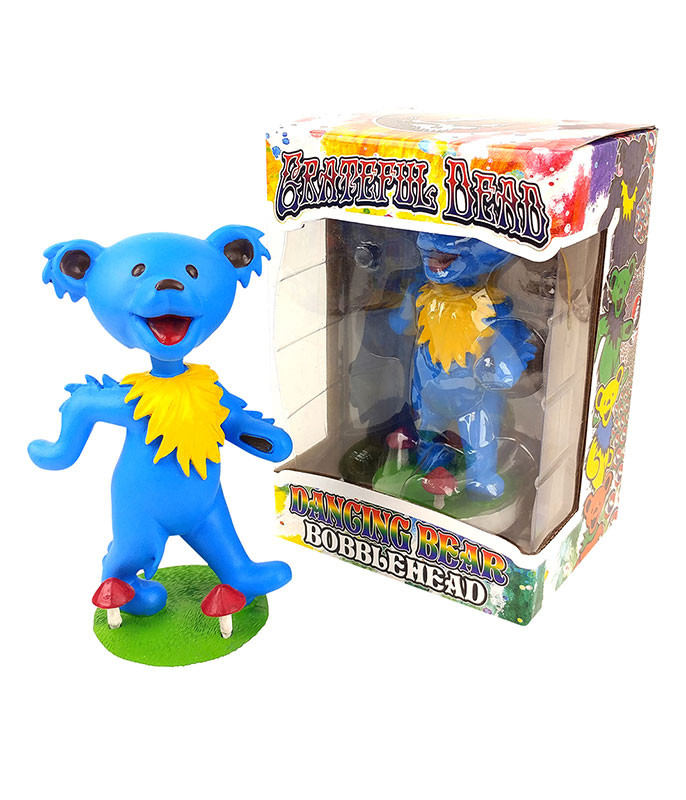 Grateful Dead Bobble Head Dancing Bear Blue