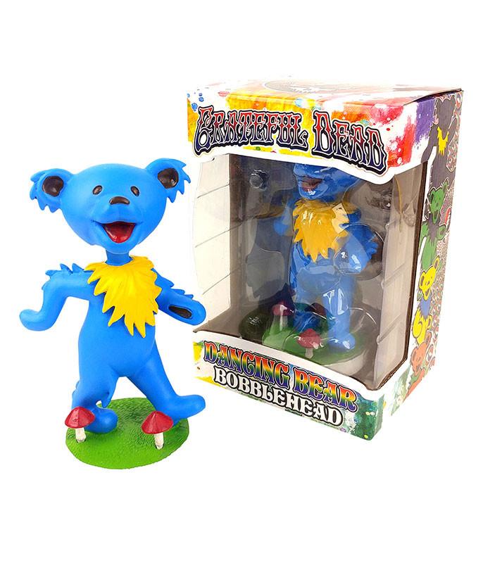 Grateful Dead Bobblehead Dancing Bear Blue