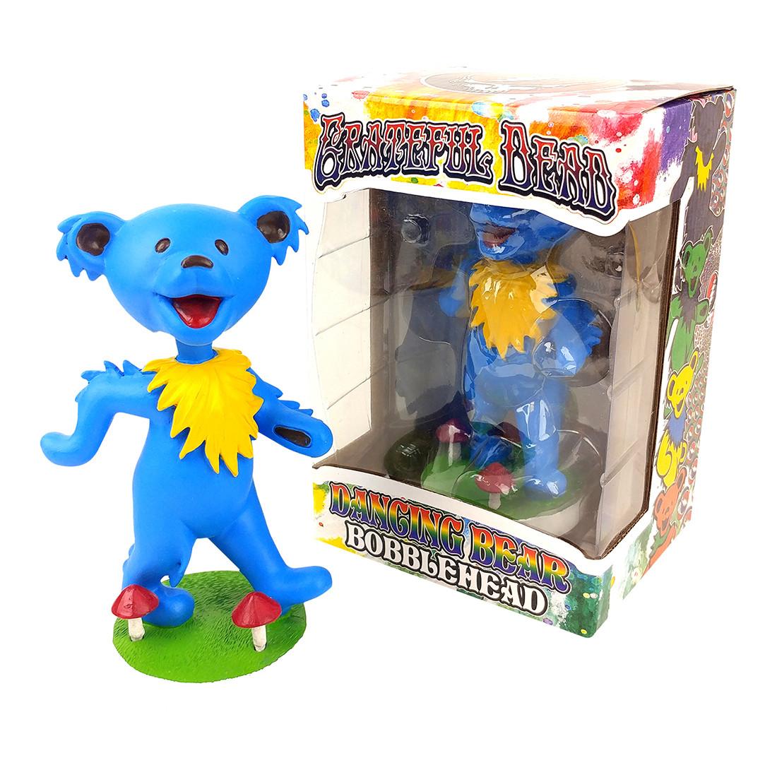 GD Bobblehead Dancing Bear Blue