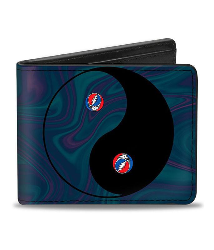 Grateful Dead GD Ying Yang Swirl Bi-Fold Wallet