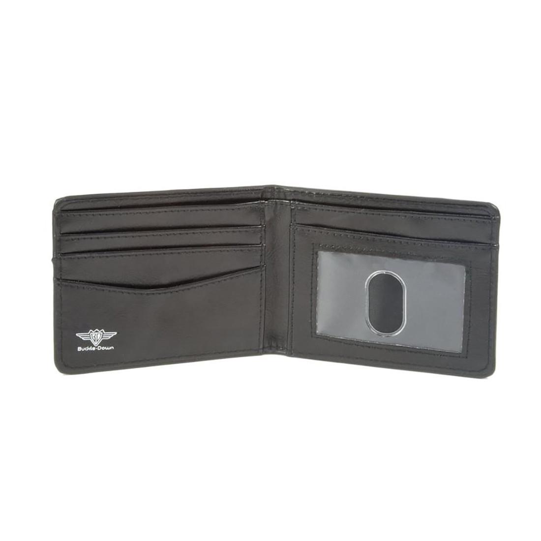 GD Ying Yang Swirl Bi-Fold Wallet