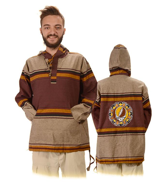 GD Tribal SYF Embroidered Baja Hoodie