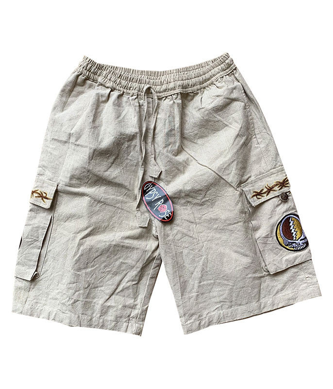 GD Bear Flower Cargo Shorts