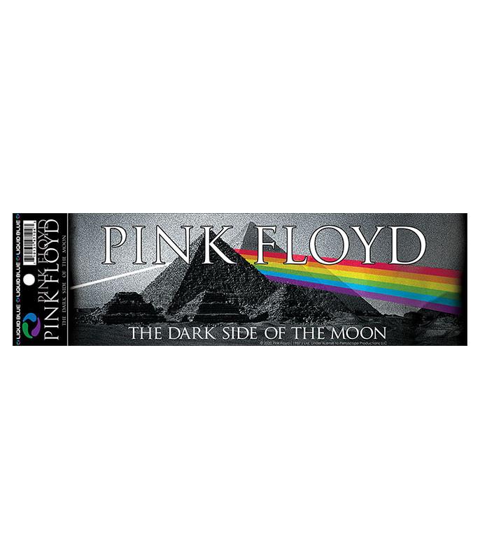 Pink Floyd Pyramid Spectrum Bumper Sticker