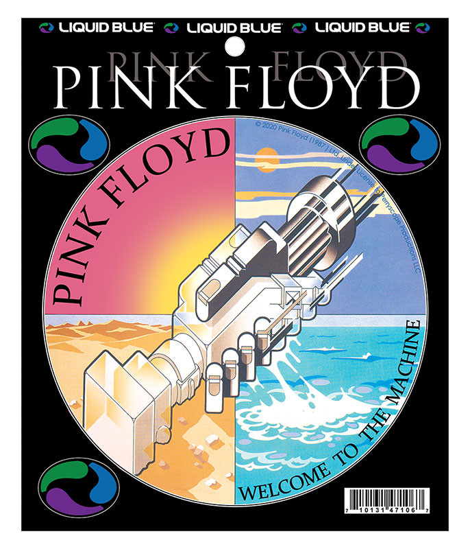 Pink Floyd Welcome To Machine Sticker