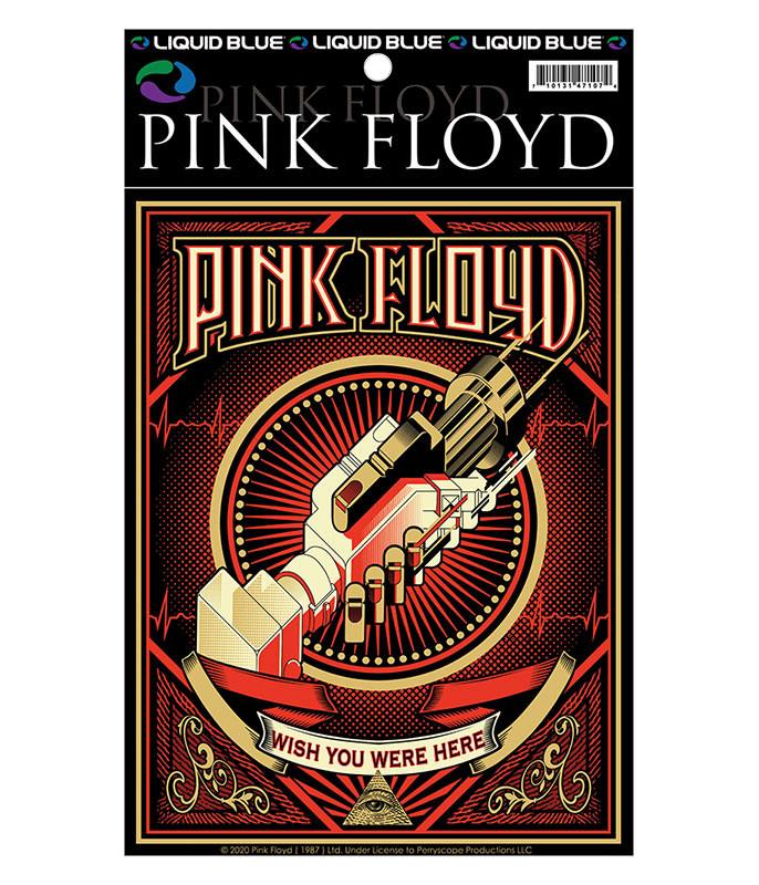 Pink Floyd WYWH Poster Sticker