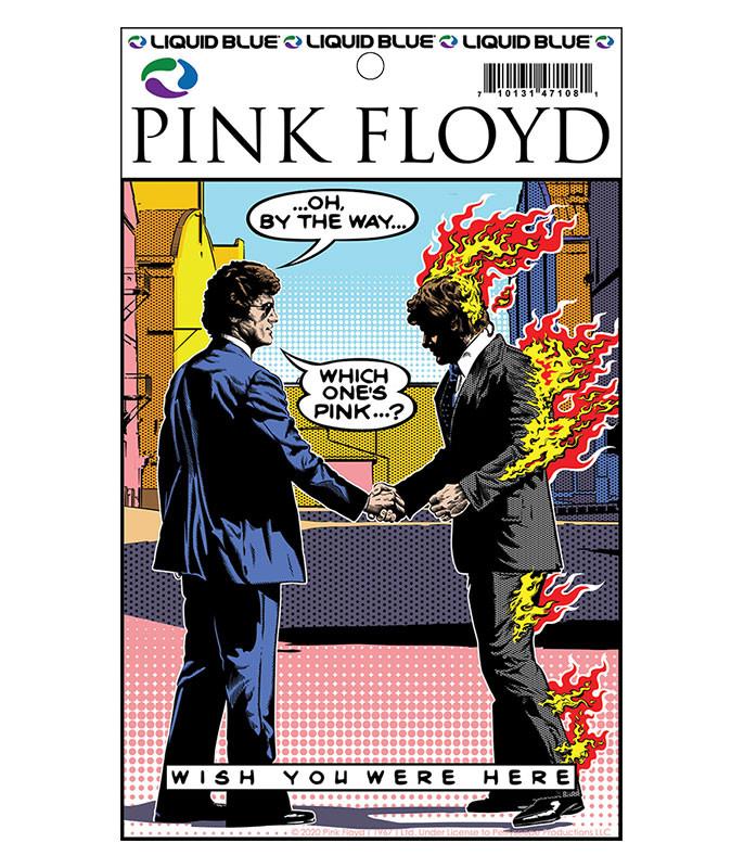 Pink Floyd WYWH Pop Art Sticker