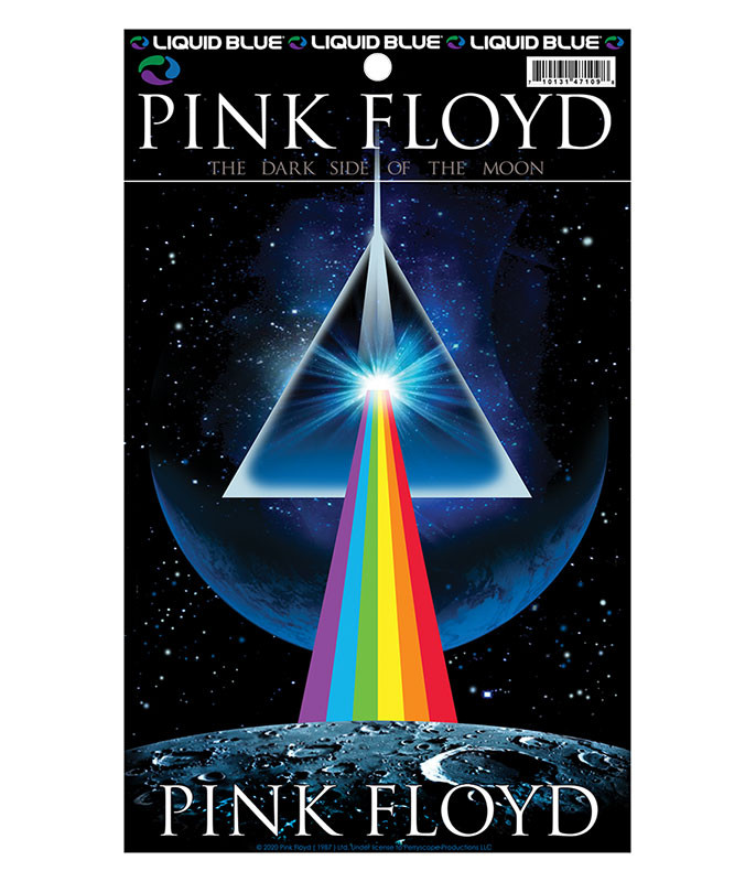 Pink Floyd Dark Side Invasion Sticker