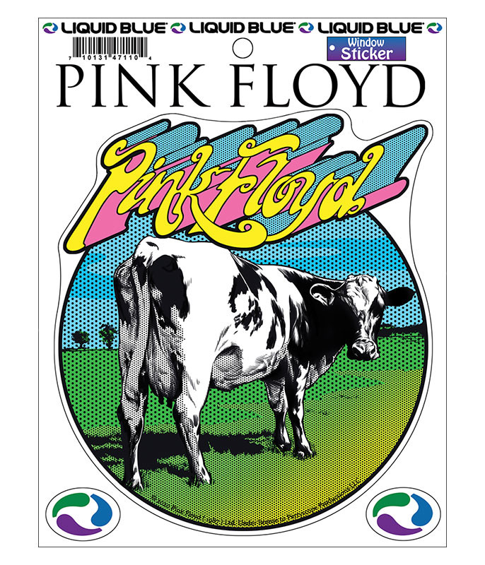 Pink Floyd Atom Heart Mother Window Sticker