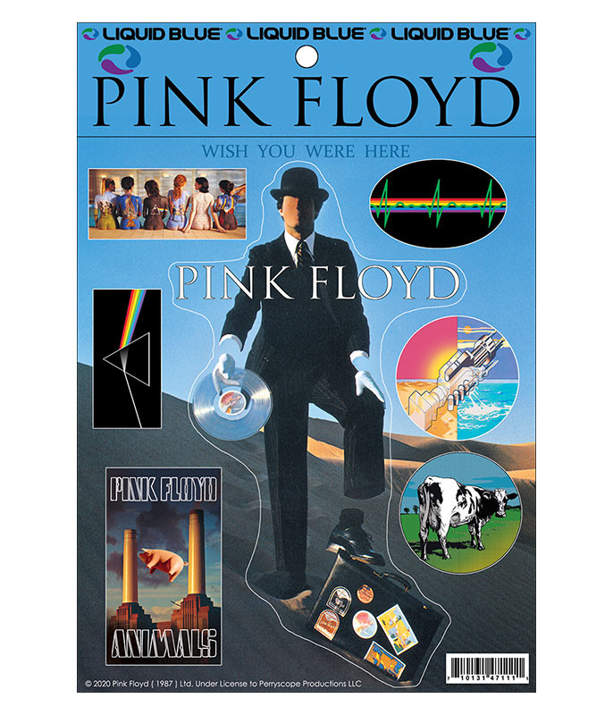 Pink Floyd Invisible Man Multi Sticker