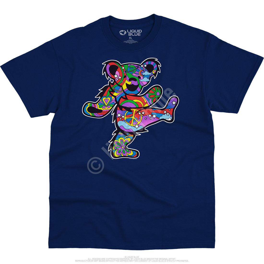Mod Bear Navy T-Shirt