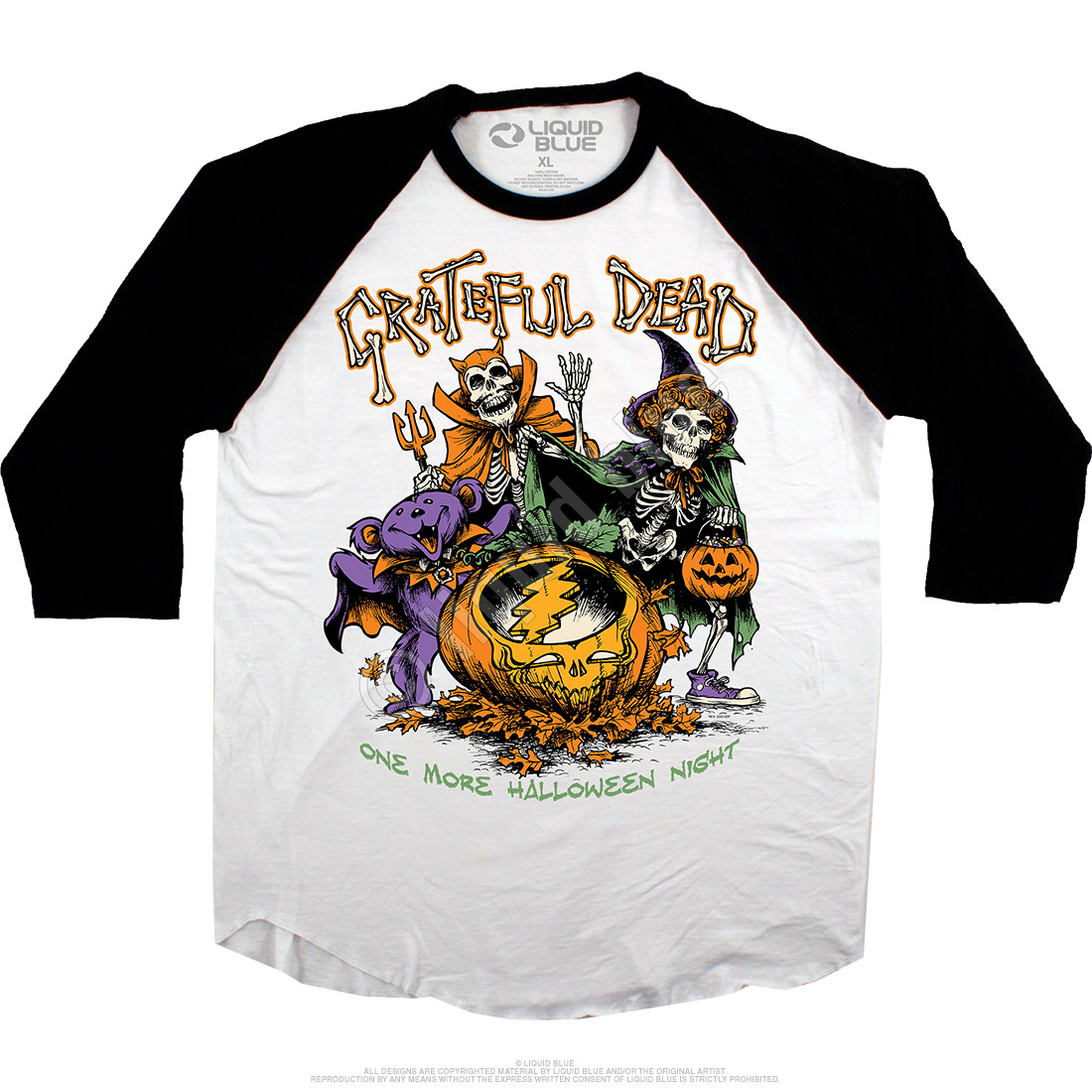 Steal Your Pumpkin Raglan Jersey T-Shirt