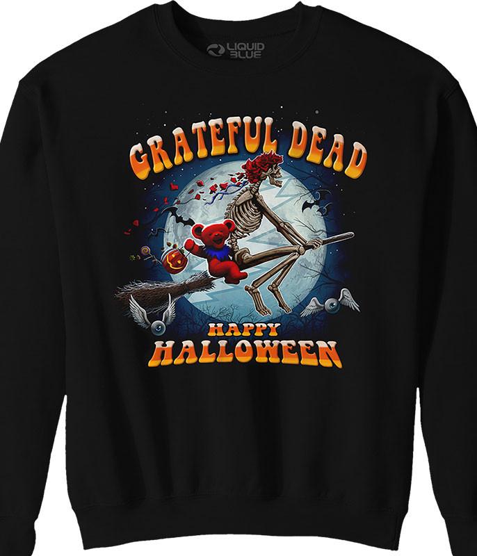 Wicked Bertha Black Sweatshirt
