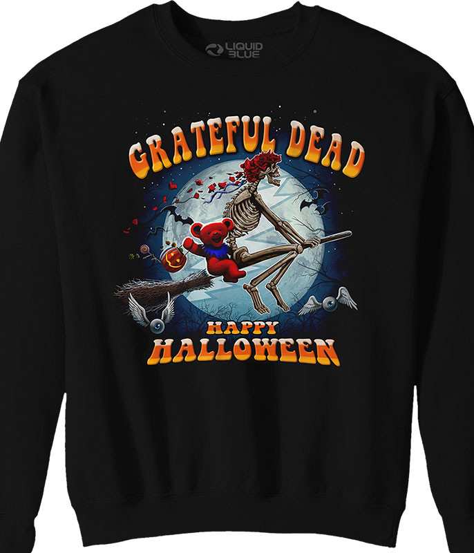 Grateful Dead Wicked Bertha Black Sweatshirt