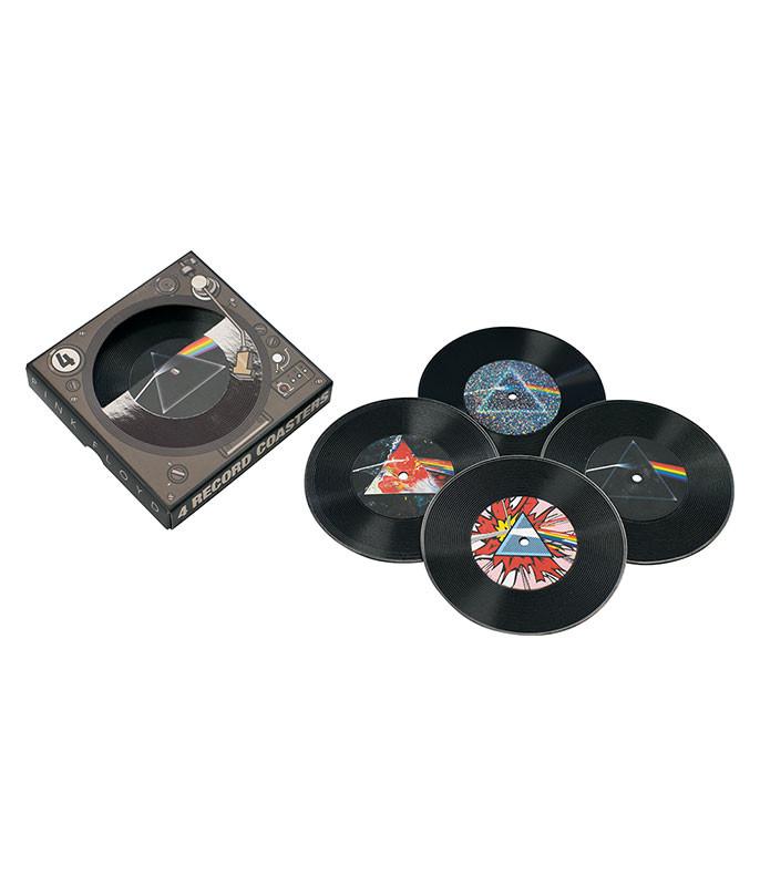 Pink Floyd Records Coaster Set