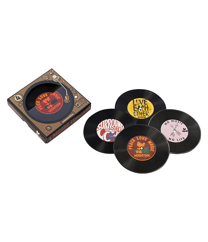 Woodstock Coaster Set