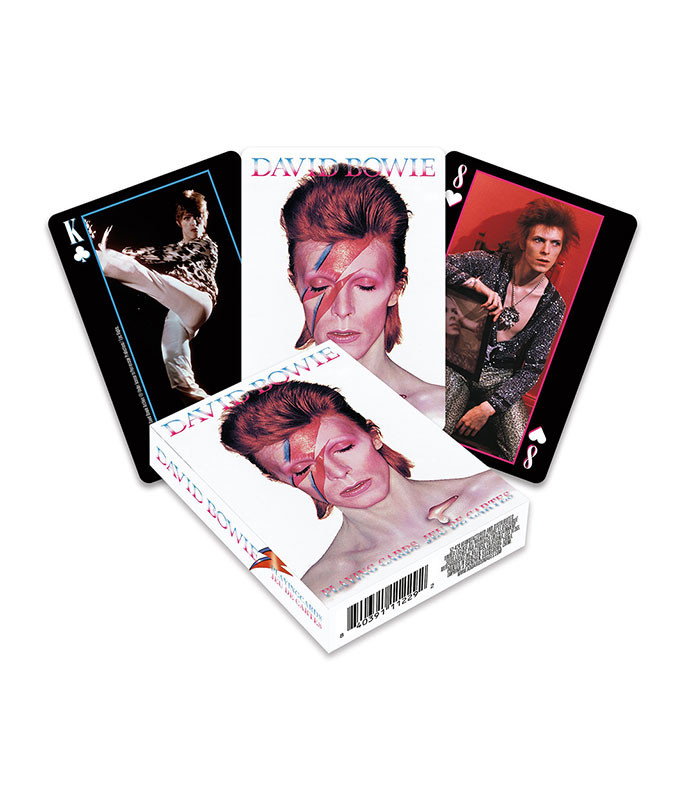 David Bowie Playing Cards