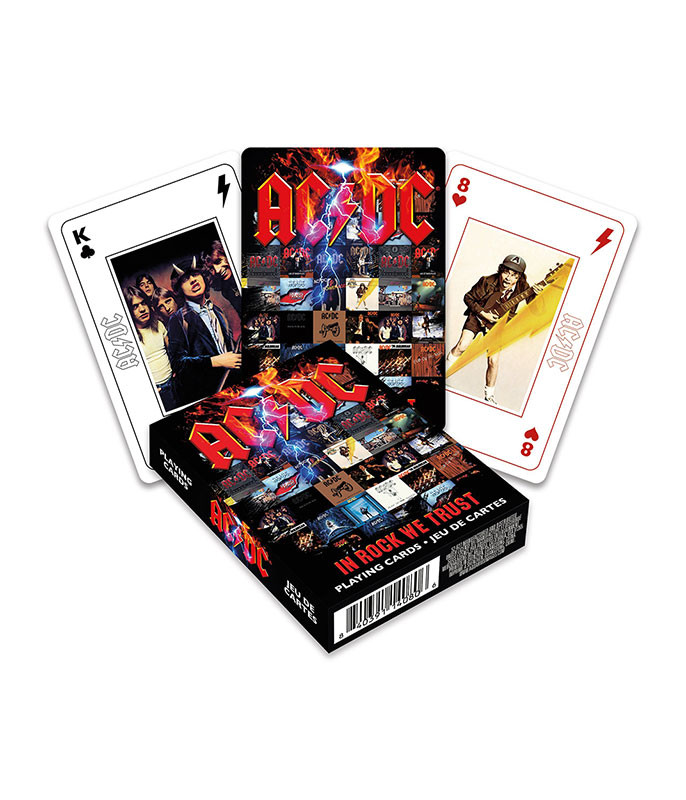 AC-DC Playing Cards