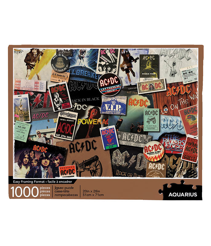 AC-DC Albums Puzzle