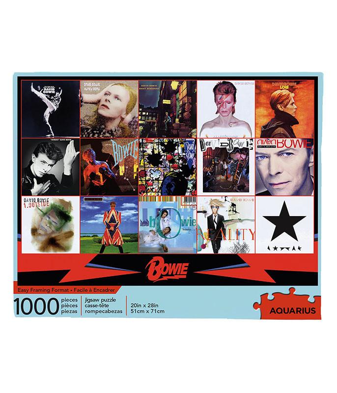 David Bowie Albums Puzzle