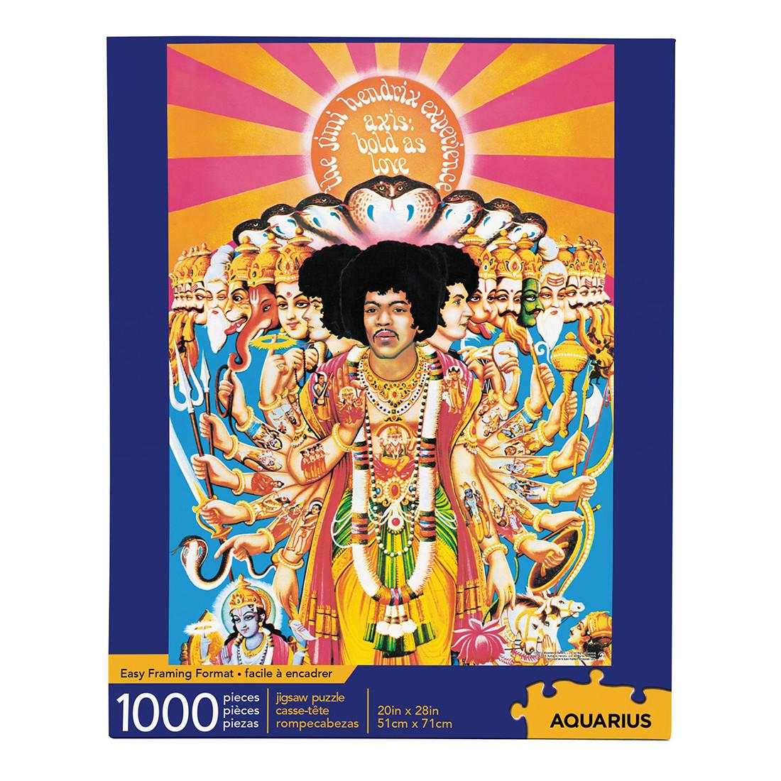 Jimi Hendrix Axis Puzzle