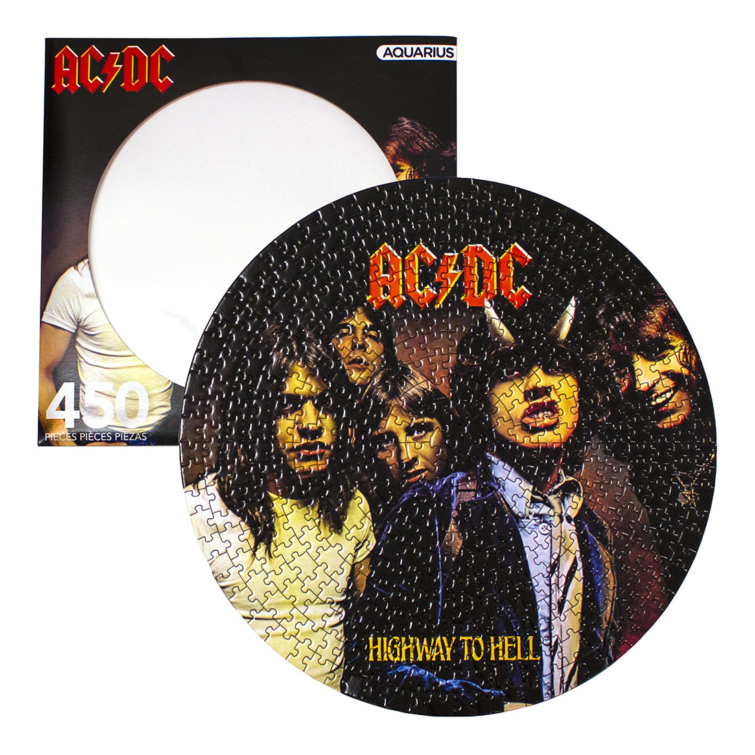 AC-DC Picture Disc Puzzle