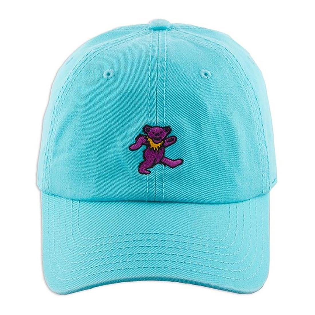 Tiny Purple Bear Dad Hat