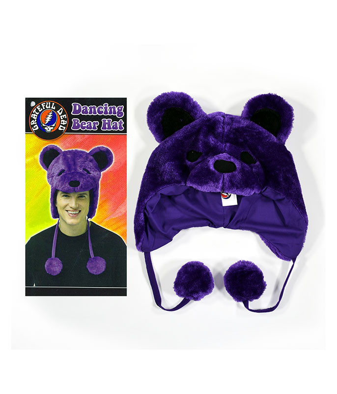 GD Dancin Bear Purple Hat