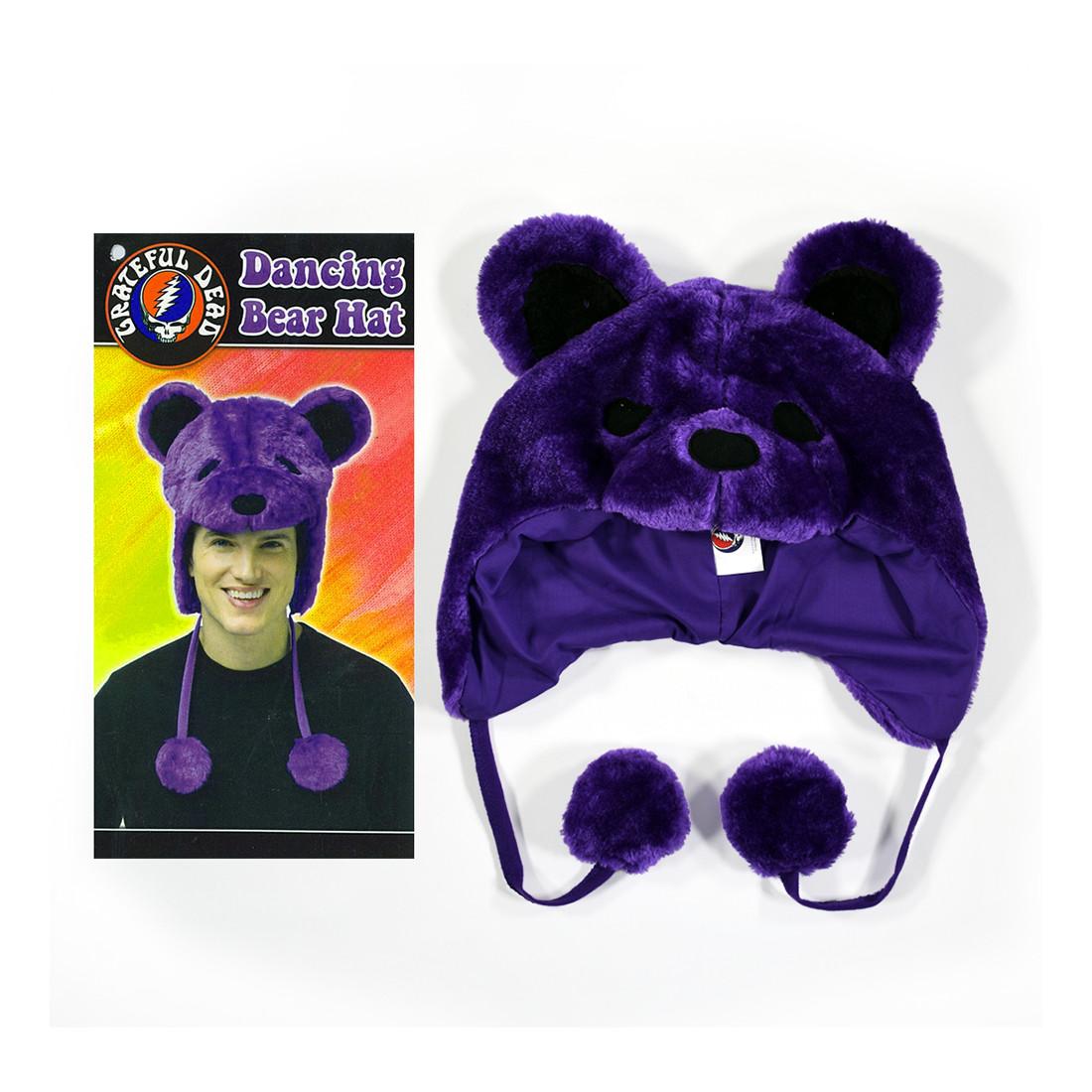 GD Dancin Bear Purple Hat