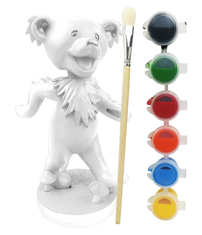 Grateful Dead Dancing Bear Bobble Head Paint Your Own