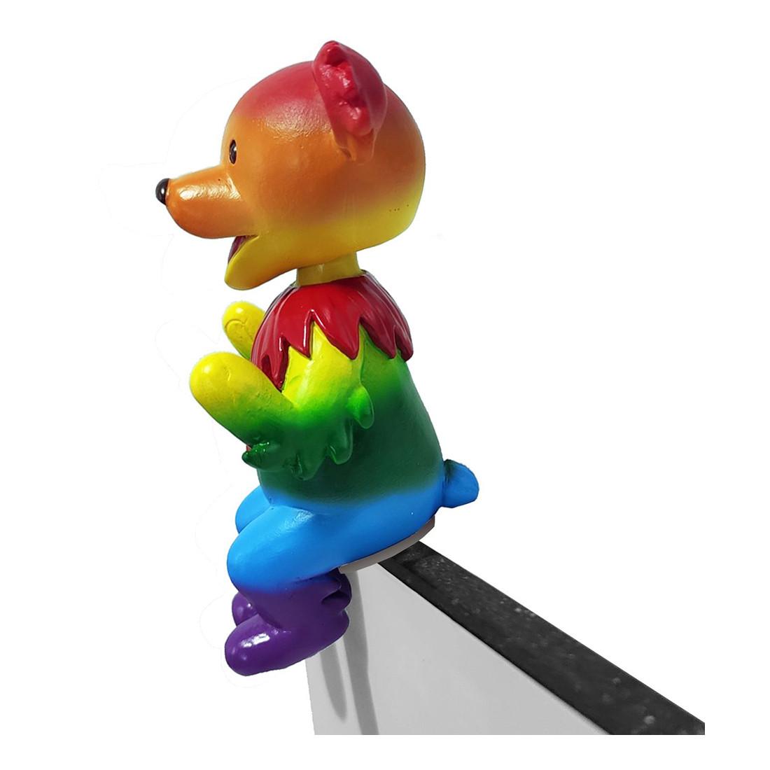 GD Bobblehead Buddy Dancing Bear Rainbow