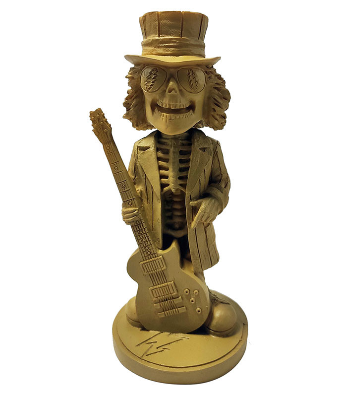 Grateful Dead Bobble Head Uncle Sam Wood Finish