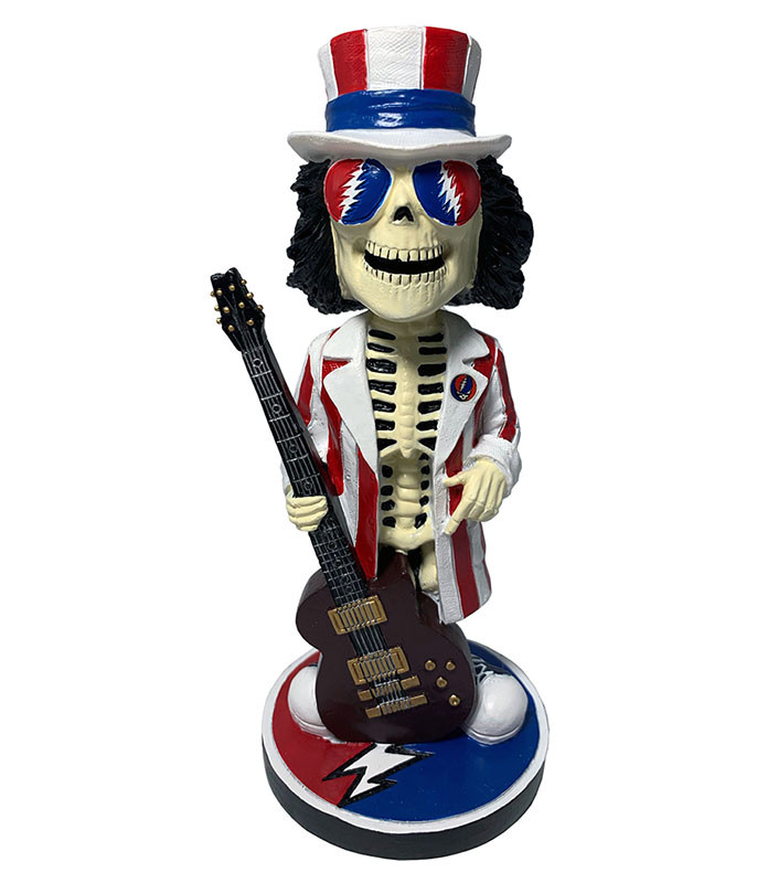 Grateful Dead Bobble Head Uncle Sam Rainbow