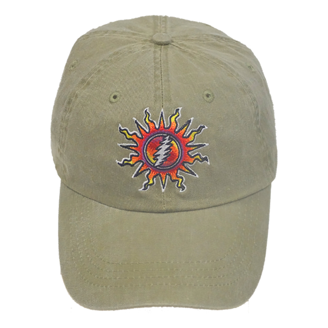 Grateful Dead Sunshine Lightning Cap