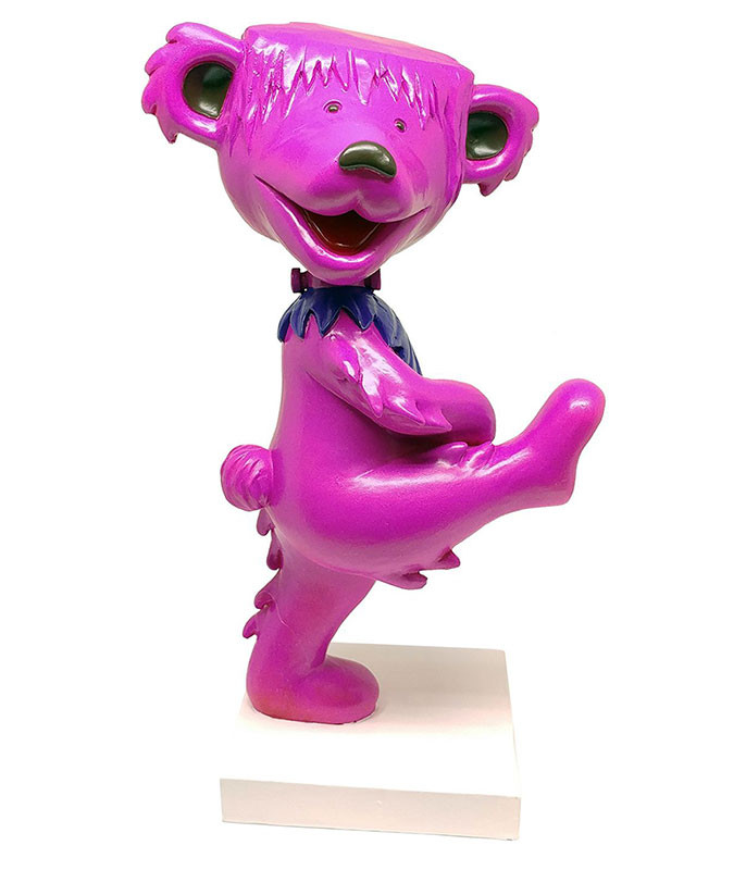 Grateful Dead Bobble Head Dancing Frankenstein Bear Pink