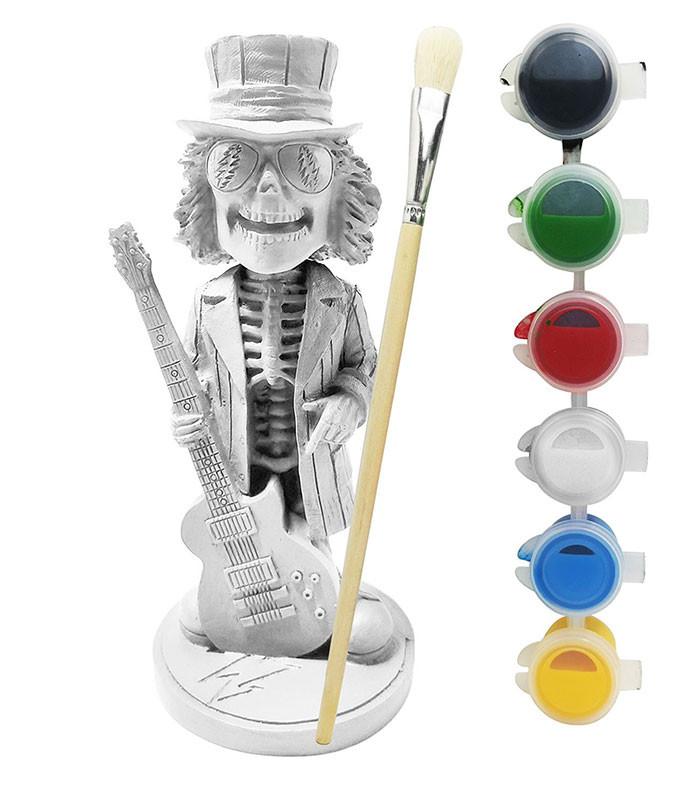 Grateful Dead Bobblehead Uncle Sam Guitar Paint Your Own