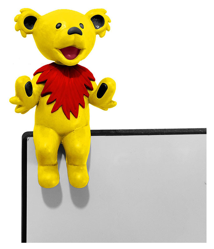 Grateful Dead Bobble Head Buddy Dancing Bear Yellow