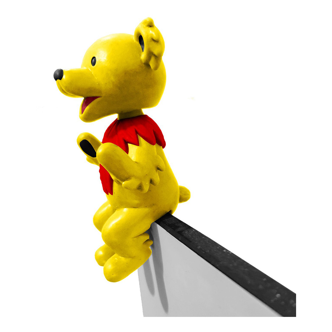 GD Bobblehead Buddy Dancing Bear Yellow