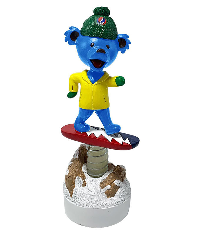 Grateful Dead Bobble Head Snowboard Dancing Bear
