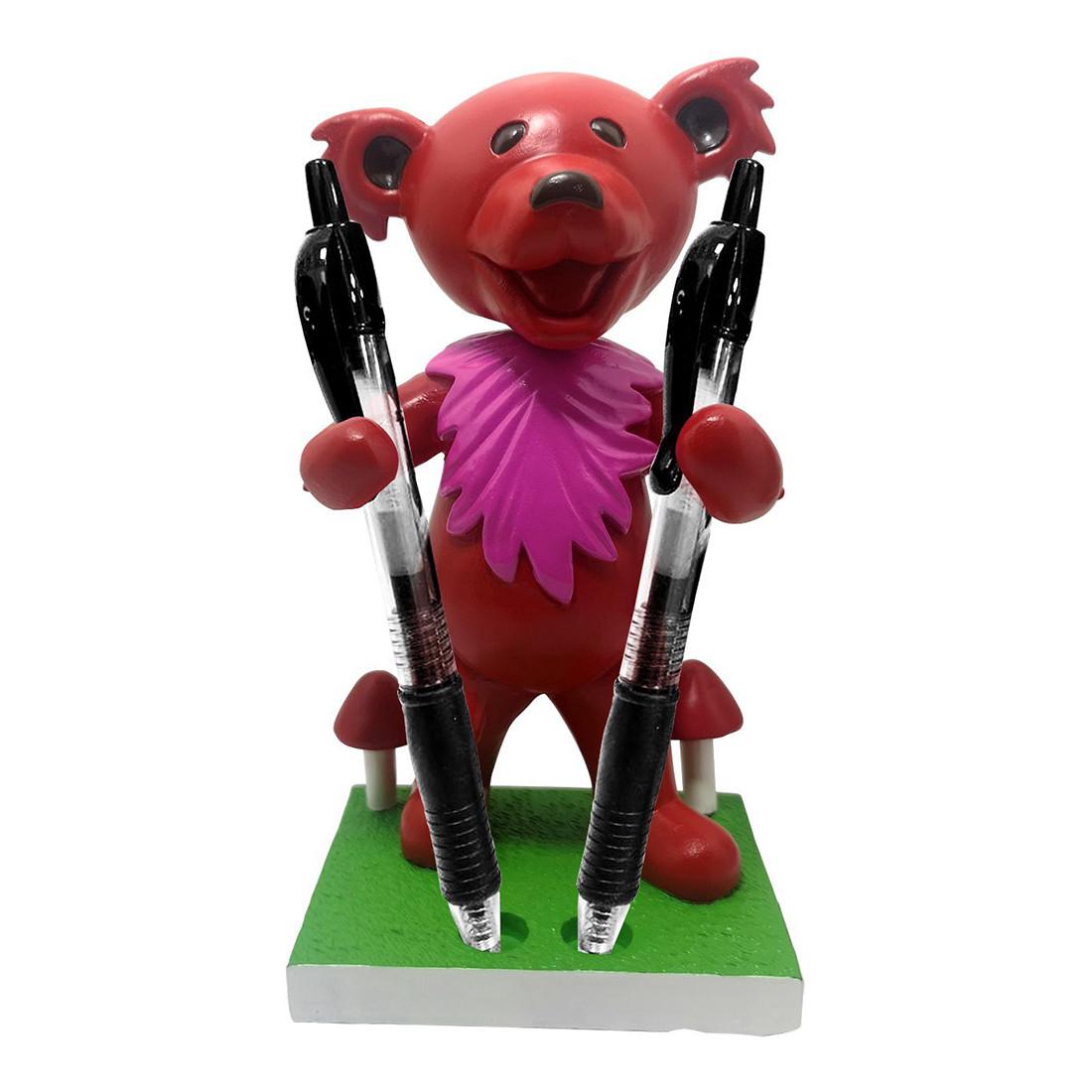 GD Bobblehead Dancing Bear Red Holder
