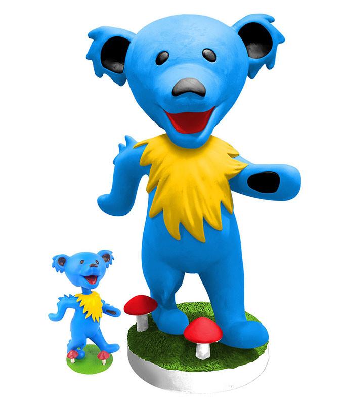 GD Bobblehead 24in Dancing Bear Blue