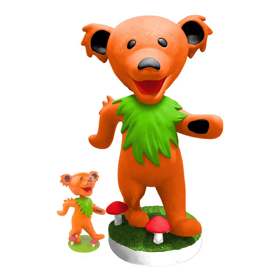 GD Bobblehead 24in Dancing Bear Orange