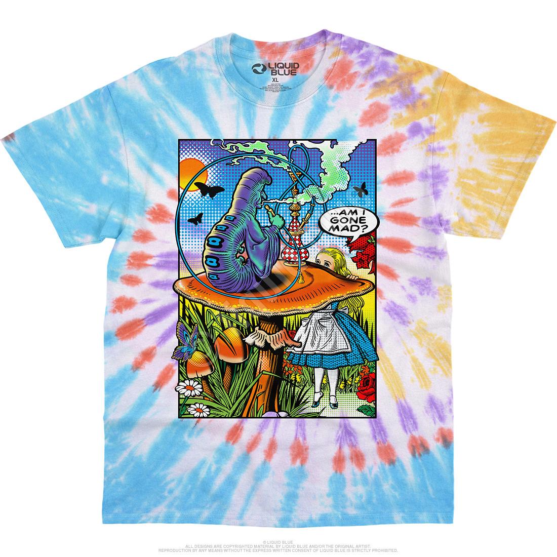 Alice Pop Art Tie-Dye T-Shirt