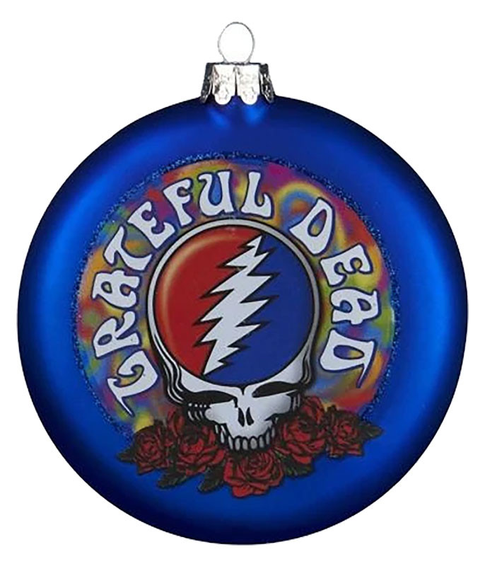 Grateful Dead Steal Your Face Ornament