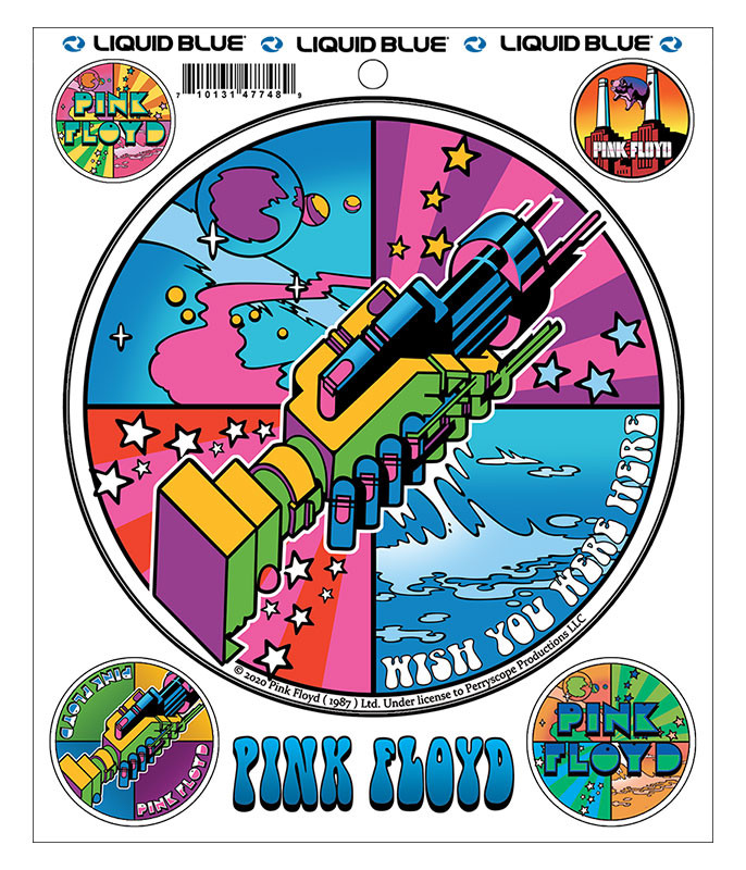 Pink Floyd Welcome To Machine Sticker