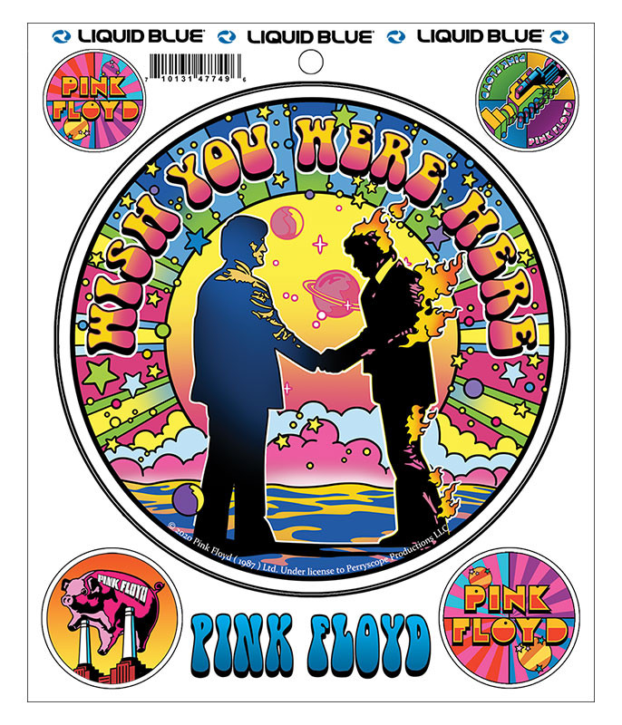 Pink Floyd Which Ones Pink Mod Multi Sticker