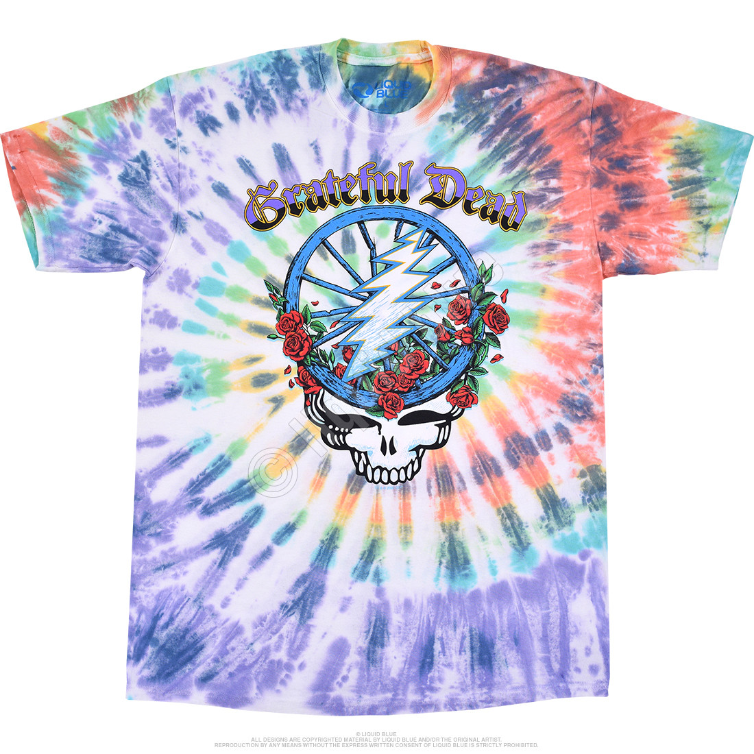 Steal Your Wheel Tie-Dye T-Shirt