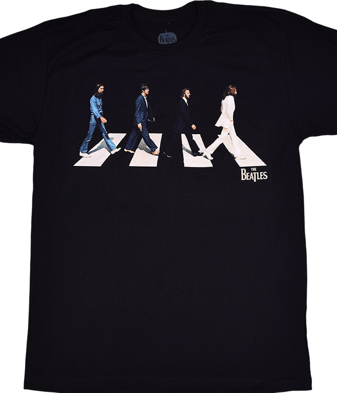 Beatles Golden Slumbers Black T-Shirt Tee