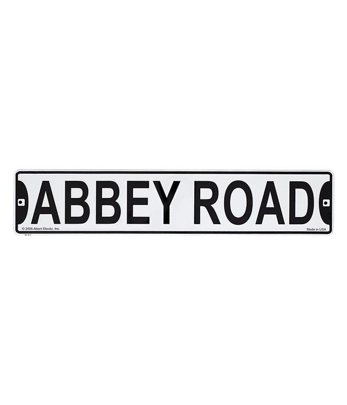 Beatles Abbey Road Tin Sign