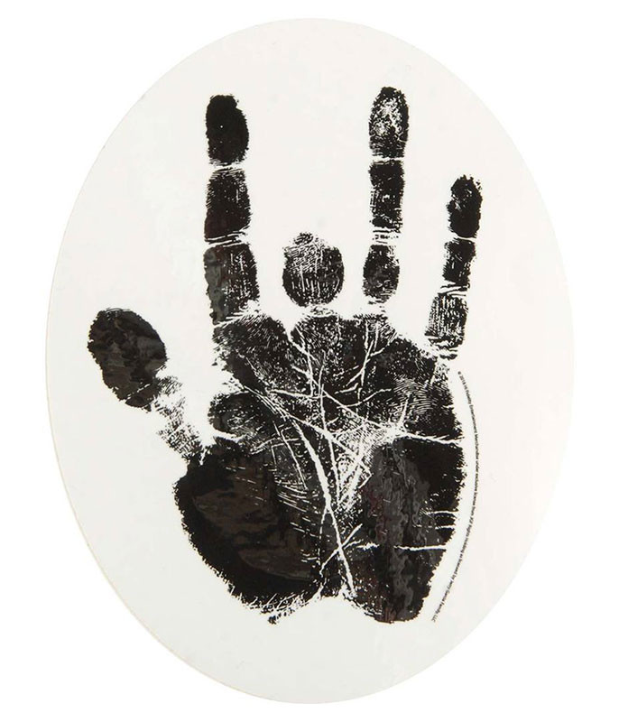 Jerry Garcia Hand Sticker